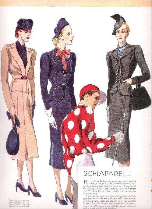 Schiaparelli suits