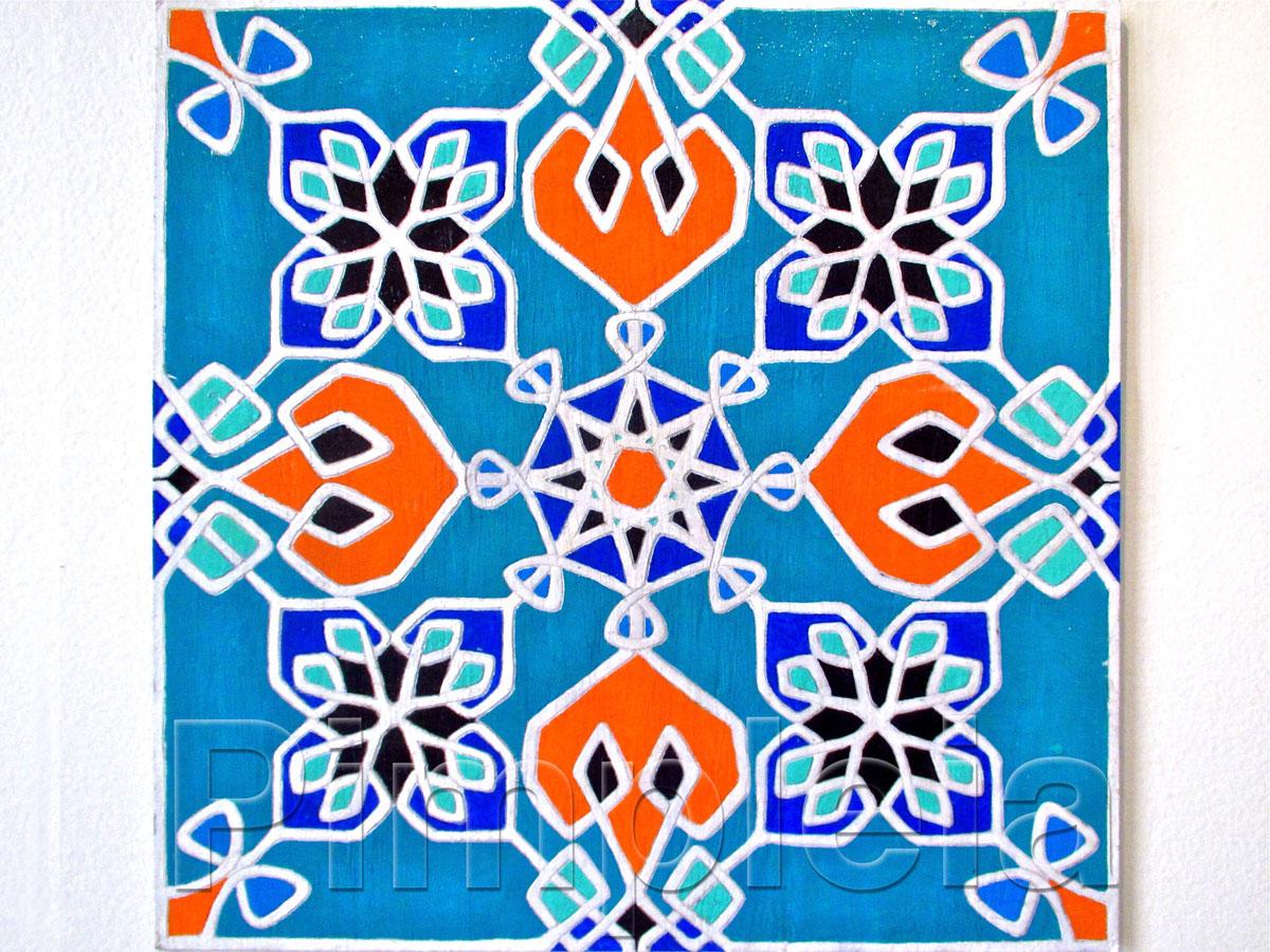 Mosaico rabe  PIMPLEIA