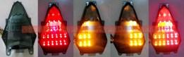 Tail light LED 3in1 smoked for Yamaha R6 2008-2013 - Rp750.000. GARANSI 1 TAHUN!