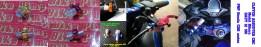 Clutch Adjuster (baut setelan kopling) ukuran 12 (M8). Terbuat dari alumunium CNC dg desain mewah ala Bikers. PNP for Honda sport&moge: CBR 150R-250R-300R-500R-600 F4/i-650F, CB 150R-300R-500F/X-650F, Megapro, Verza, Tiger, Sonic, CS-1. Ready warna GOLD dan MERAH (warna black/silver/blue bisa request inden). PRICE @Rp170.000.