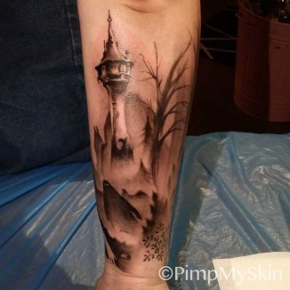 Tatuering- Fröken Kaos