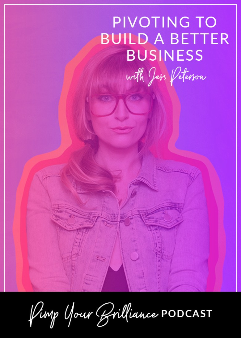 Have you had to pivot in your business? Jess Peterson of Mighty Oak, shares her story of pivoting and niching down to build a better business.