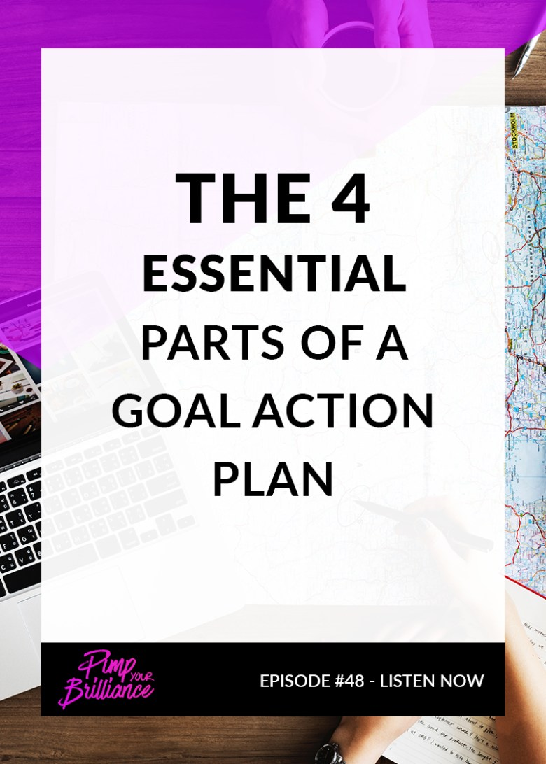 There are 4 essential pieces that you must have in order to reach your goals to effectively. I'm going over all 4 pieces and breaking them down so that you can get your 2019 goals in gear.
