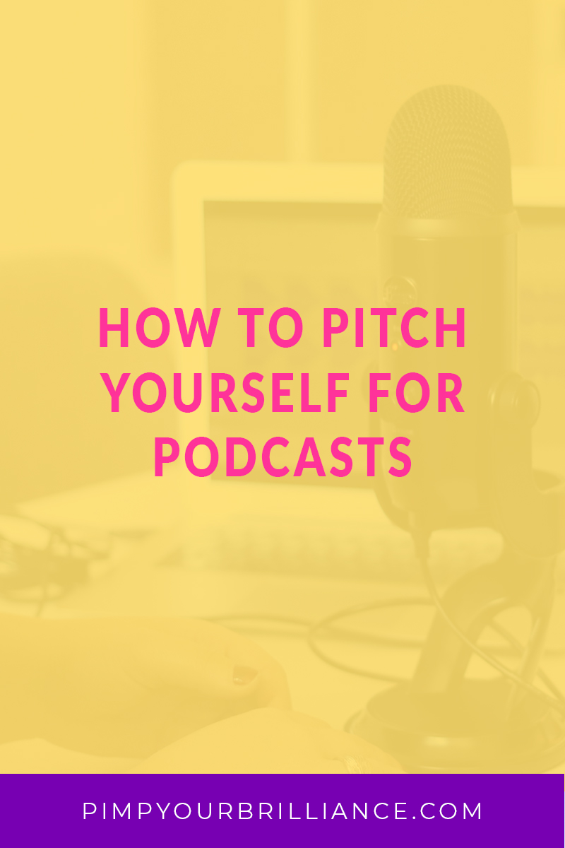 How To Pitch Yourself For Podcasts