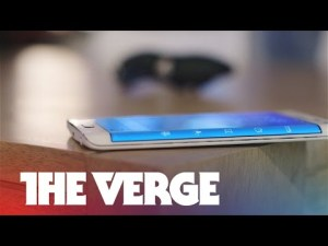 Samsung Galaxy Note Edge Vidéo youtube