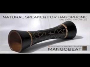 Concours lepine , l'enceinte en bois MANGOBEAT pour smartphone youtube