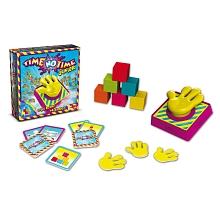 Goliath - Time No Time Junior Time No Time junior est un jeu de gage qui va apprendre aux enfant à développer leur dextérité et leur adresse tout en s'amusantContenu du packaging: 112 cartes gages