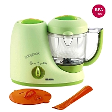 Beaba - Babycook sorbet Robot cuiseur-mixeur vapeur. Pour se faire plaisir ou pour offrir. 4 Fonctions : cuit à la vapeur