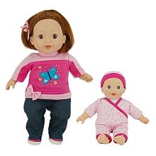 You & Me - Poupée 35 cm Ma copine garde sa petite soeur Mets la main droite de la petite soeur dans la main gauche de ta copine