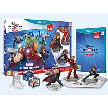 Disney Infinity 2.0 : Marvel Super Heroes - Pack de démarrage Wii U Découvrez Disney Infinity 2.0 : Marvel Super Heroes et faites le plein de super pouvoirs ! Plongez dans un tout nouvel univers rempli d'action où vous créerez à l'infini de super aventures. Le pack de démarrage comprend un tout nouveau mode Toy Box