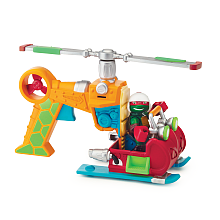 Véhicule + Figurine 6 cm Tortues Ninja - Raphaello Véhicule avec son et un personnage de 6 cm.Chaque véhicule a une fonction et un son propre Véhicule adapté pour les jeunes enfants.
