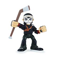 Figurine 6 cm Tortues Ninja - Casey Jones et Metalhead Blister d'une figurine de 6 cm et son accessoires ou de deux figurines.Ces petits personnages adaptés pour les jeunes enfants qui veulent revivre les aventures de leurs amis.Plusieurs assortiments disponibles.