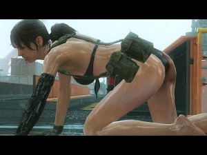 Plus sensuelle que Lara croft, voilà Quiet de Metal Gear Solid 5: The Phantom Pain (MGSV) – YouTube