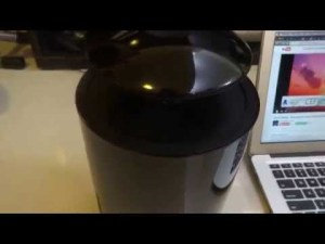 Crazybaby Mars l'enceinte bluetooth en lévitation – YouTube
