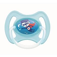 toys' r us 2 sucettes anneau nuit MAM 18 mois+ bleue et rose (modèle aléatoire)