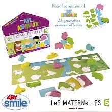 toys' r us Abysmile - Les Maternelles - Mon Kit des animaux