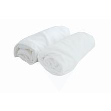 toys' r us 2 draps housse 60 x 120 cm blanc