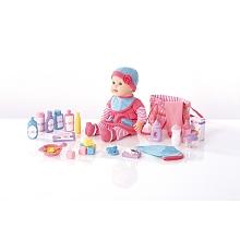 toys' r us You & Me - Poupon 40 cm + Sac à langer et ses accessoires