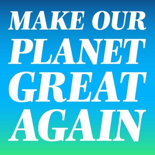 Make our planet great again  Emmanuel Macron sur Twitter : «https://t.co/3g5LYO9Osj»  En réponse a donald trump qui sort des accords de paris sur le changement climatique