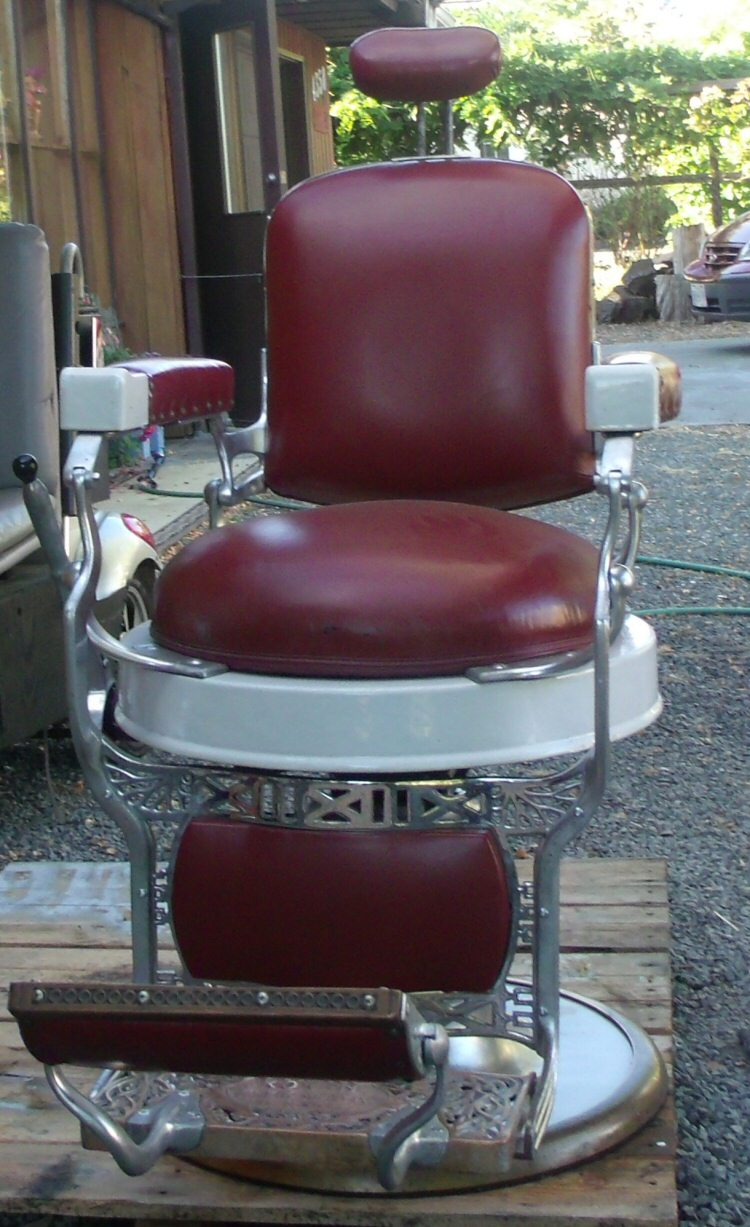 Koken Barber Chairs Antique Koken Barber Chair For Sale Victoria Bc