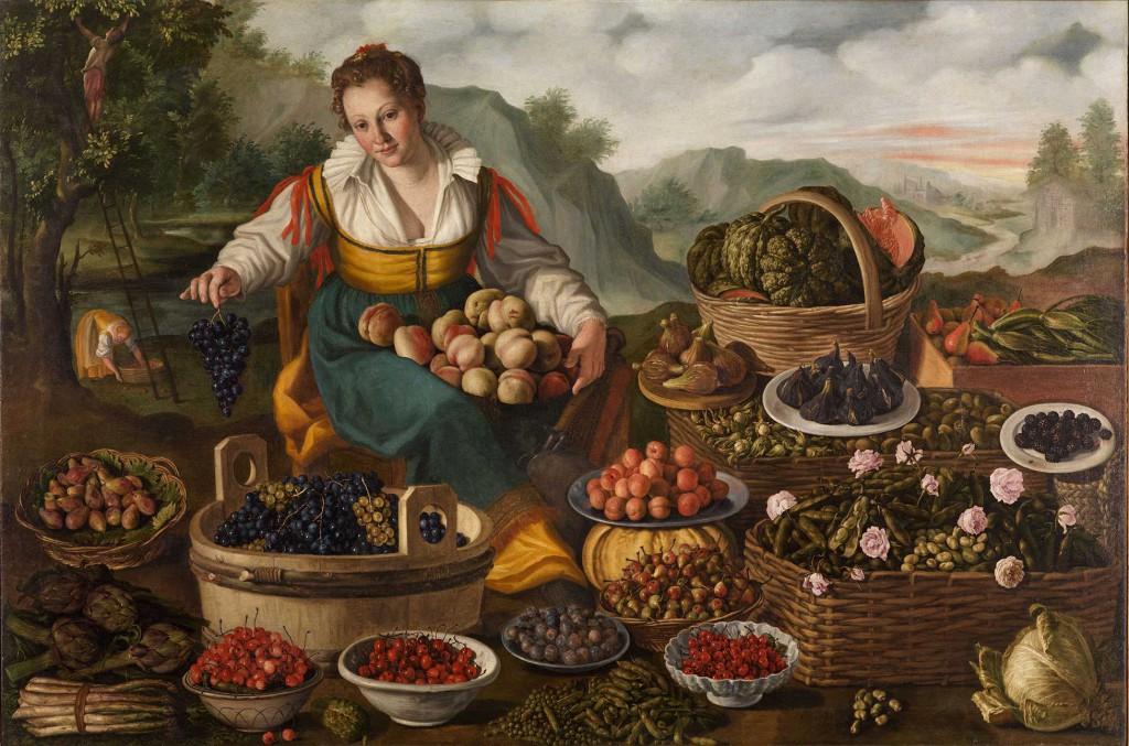 Fruit Seller  Pinacoteca di Brera