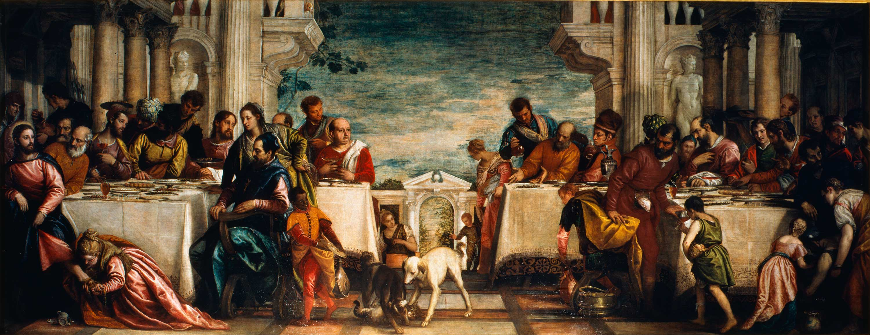 Cena in casa di Simone  Pinacoteca di Brera