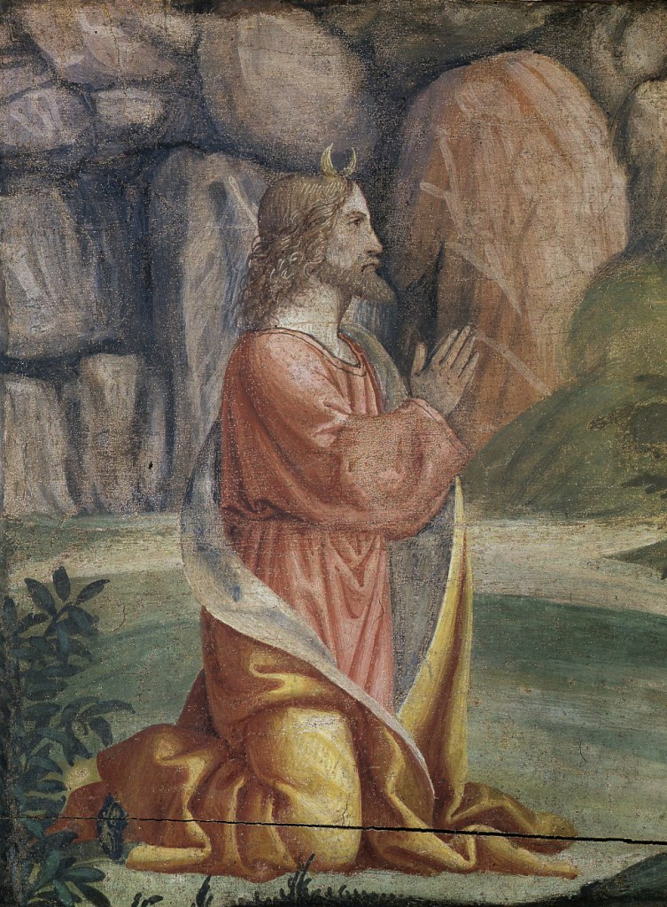 Moses Prayer on the Mount Sinai  Pinacoteca di Brera