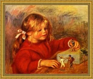 Memoria Narrante, Claude Renoir ritratto di bambina, immagine web