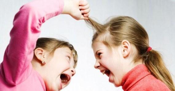 Memoria Narrante, litigio fra bambine, foto web