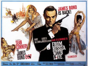 007 dalla Russia con Amore - from Russia with Love - Sean Connery