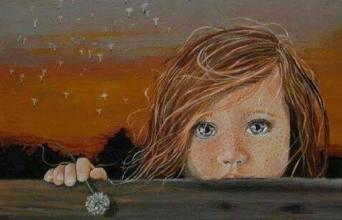 Memoria Narrante, bambina triste, foto web