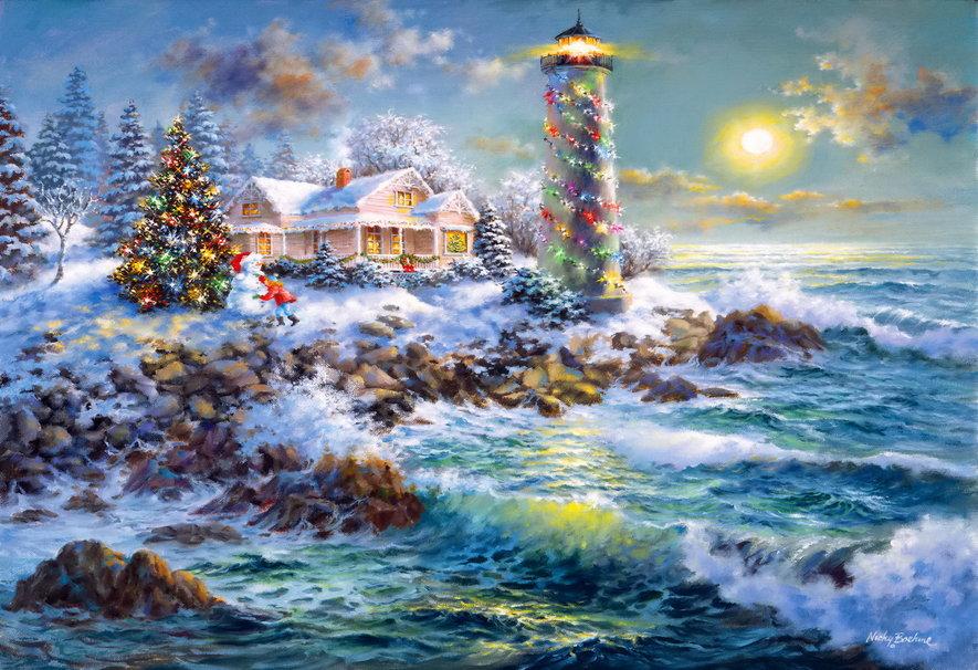 El Mar Y La Navidad En Imgenes Blog Ctedra De Historia