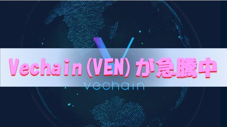 【仮想通貨】【1月】中国銘柄VEN(VeChain)が急騰中【暴落にも強かった】
