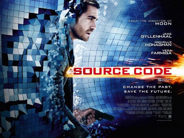 Source Code starring Jake Gyllenhaal, Michelle Monaghan & Vera Farmiga.