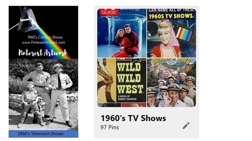 1960s Television shows wide 1 A blog for the love of Pinterest