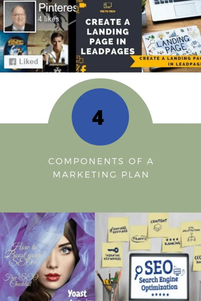 4 components of a marketing plan
