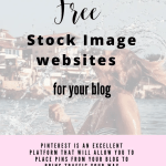 20 Recommended Free Stock Image websites for your blog