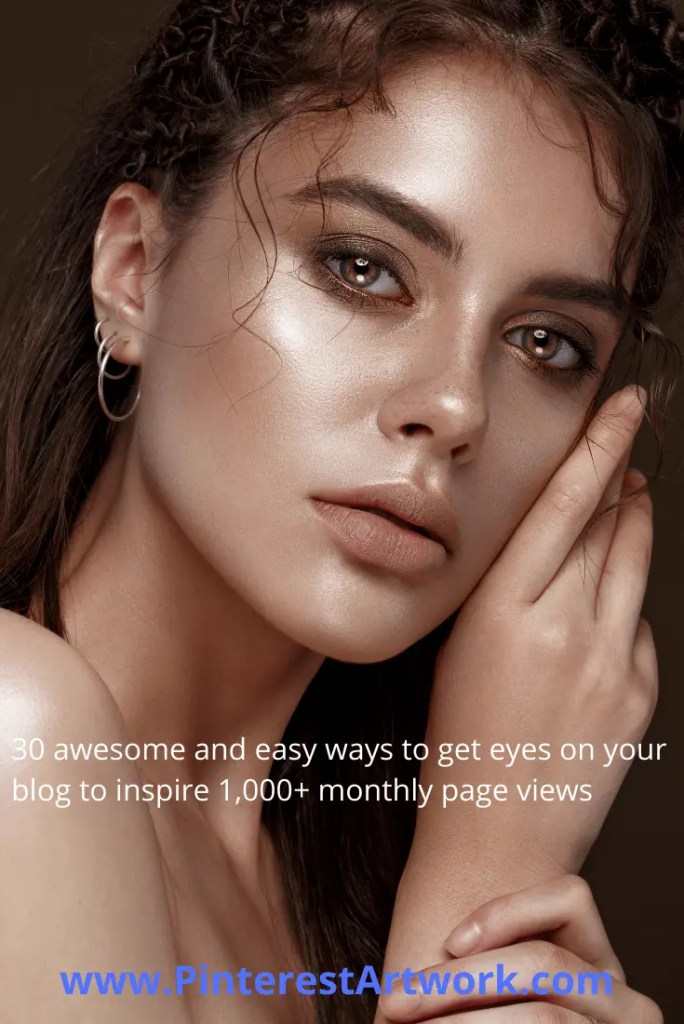 30 ways to inspire 1000 page views 10 A blog for the love of Pinterest