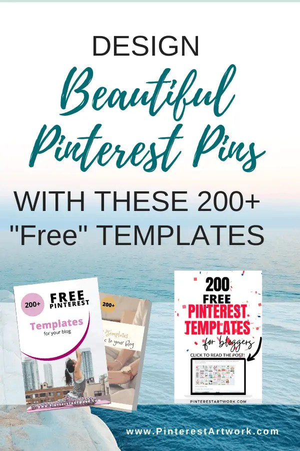 200 Plus Free Pinterest Templates 13 A blog for the love of Pinterest