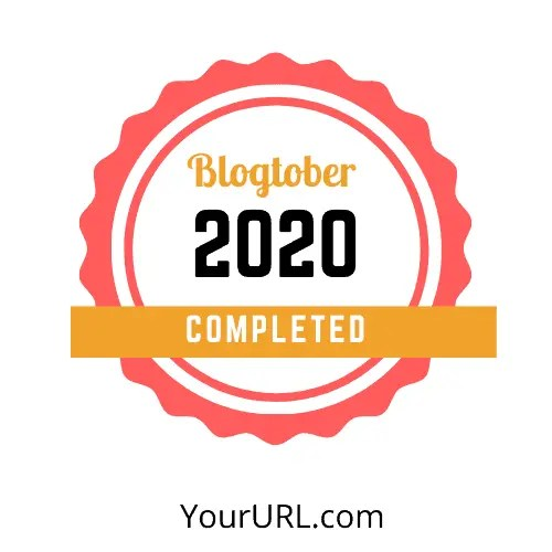 Blogtober Badge 2020 Completed 13 A blog for the love of Pinterest