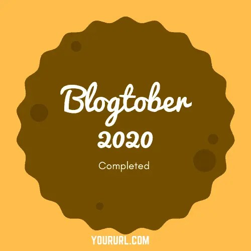 Blogtober Badge 2020 Completed 16 A blog for the love of Pinterest