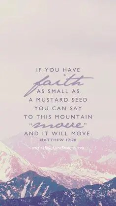 faith the mustard seed A blog for the love of Pinterest