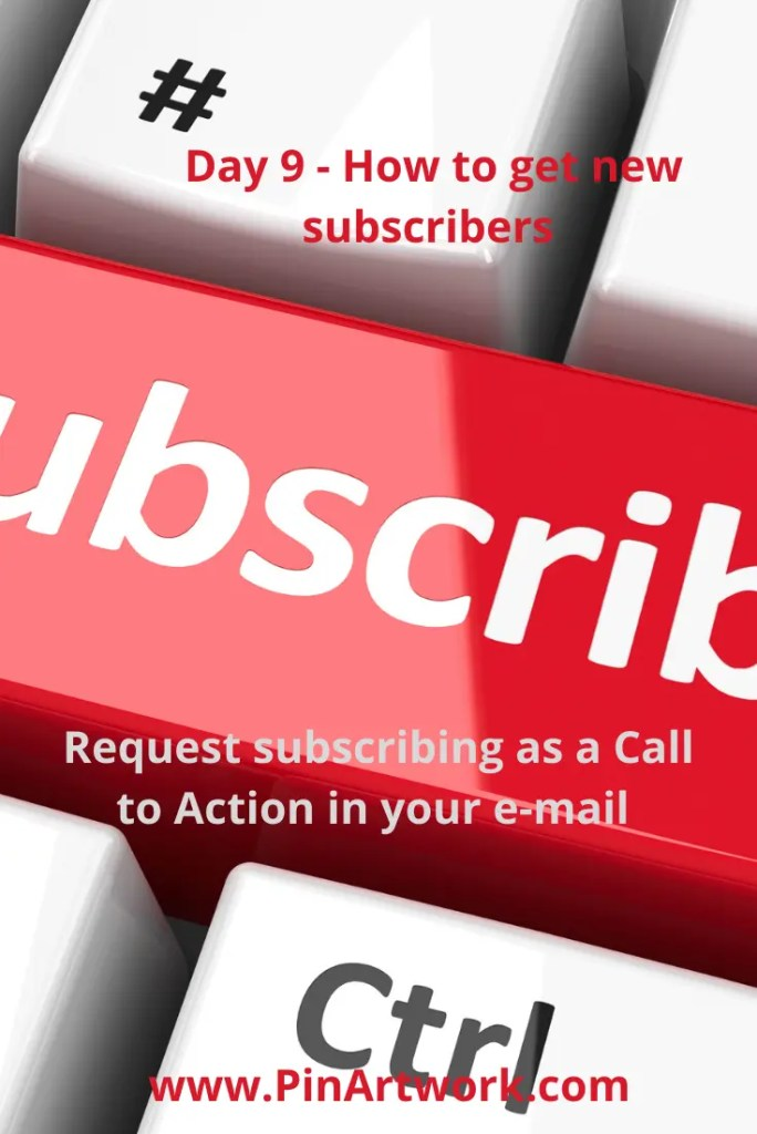 20 simple ways to get new subscribers 14 A blog for the love of Pinterest