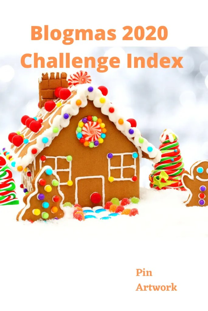 Blogmas 2020 Challenge – Index