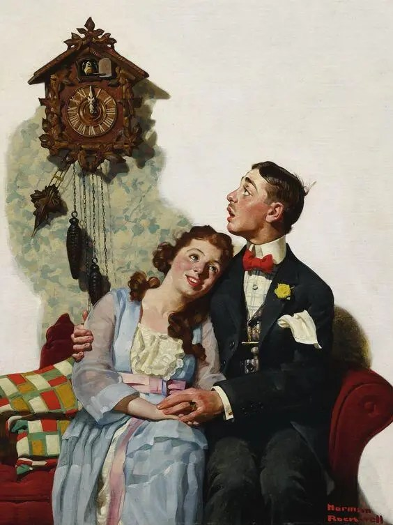 Courting under the clock at midnight A blog for the love of Pinterest