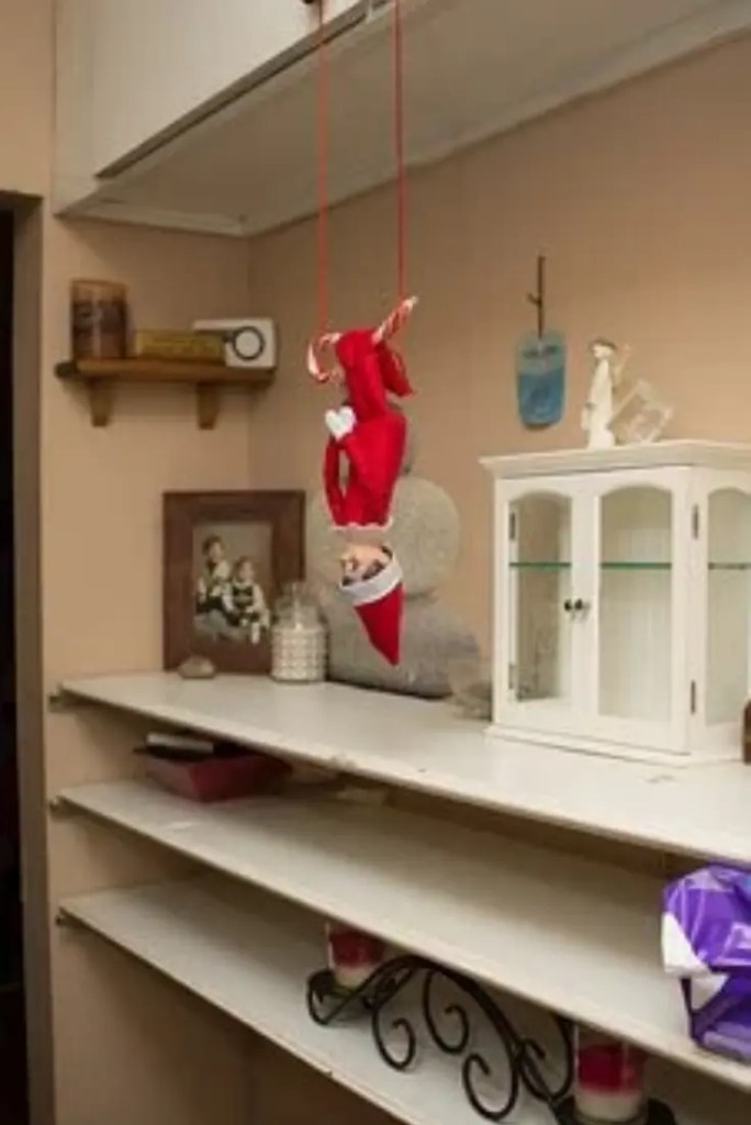 Elf on the Shelf ideas 7 A blog for the love of Pinterest