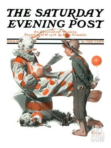 Meeting the Clown A blog for the love of Pinterest