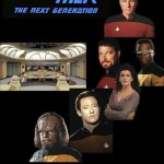 Star Trek – The Next Generation Pin Artwork