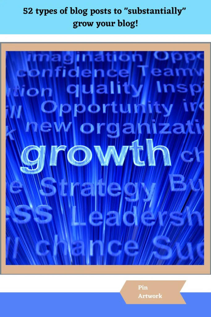 52 blog post types to grow your blog 10 A blog for the love of Pinterest