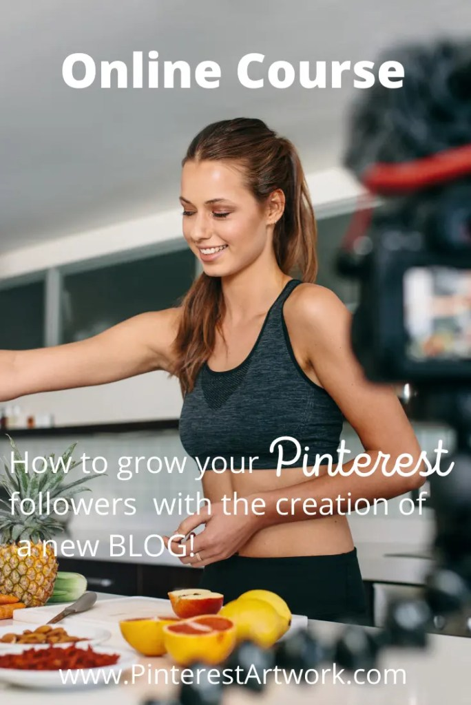 Online Course 5 A blog for the love of Pinterest